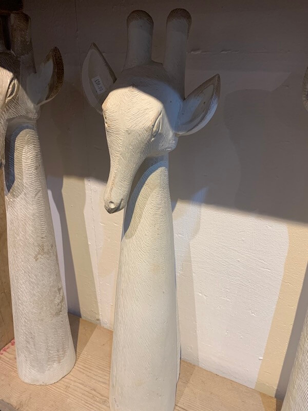 Soapstone Large Giraffe Head