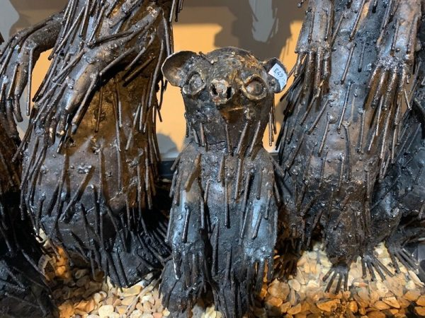 Small/Large Metal Meerkat Sculpture