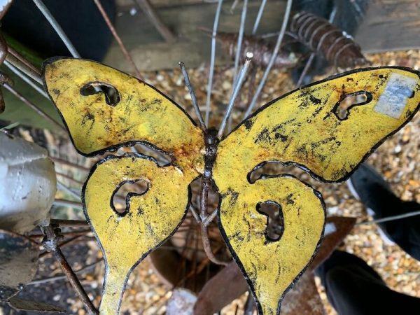 Metal Bird & Butterflies